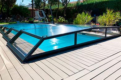 precio cubierta plana telescopia piscina