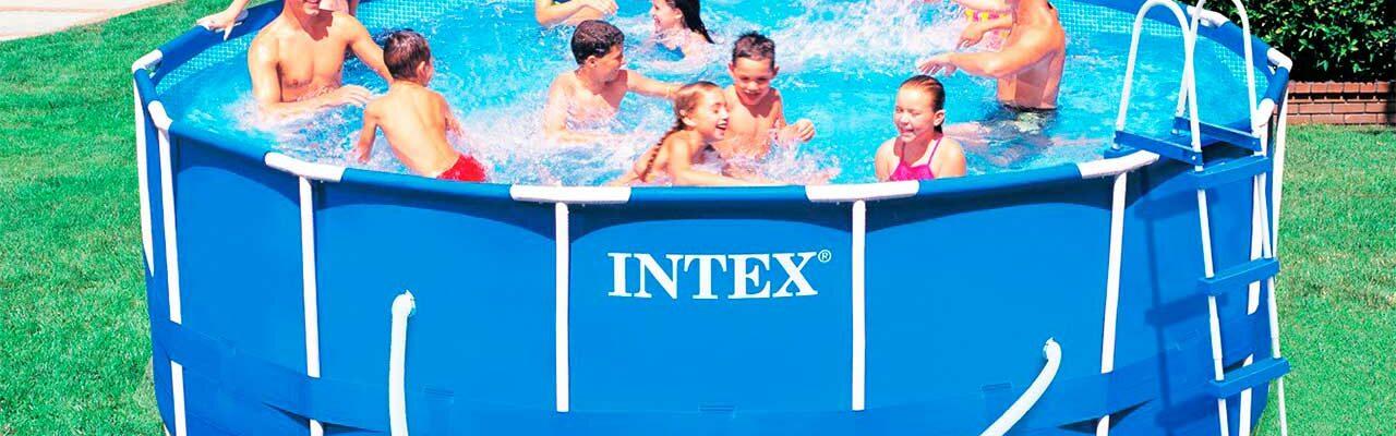 instalar una piscina desmontable intex